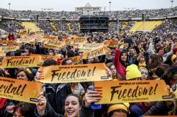 Koncert na podporu vězeňských katalánských separatistů