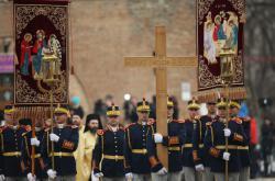 Pohřeb rumunského krále Michala I.