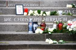 Památník obětem teroristického útoku na vánočních trzích v Berlíně v prosinci 2016