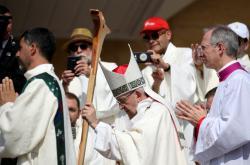Papež František v Chile