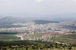 Oblast Afrín na severu Sýrie