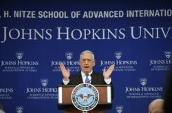 James Mattis vysvětluje základní obrysy nové obranné strategie Spojených států