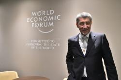 Andrej Babiš v Davosu