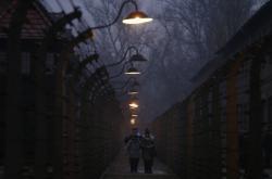 Připomínka osvobození nacistického koncentračního tábora Auschwitz