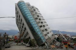 Zemětřesení ve městě Chua-lien na Tchaj-wanu