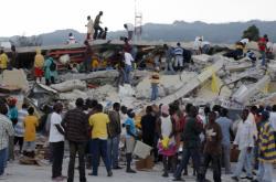 Haiti po zemětřesení v roce 2010
