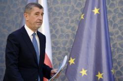 Premiér v demisi Andrej Babiš po jednání vlády