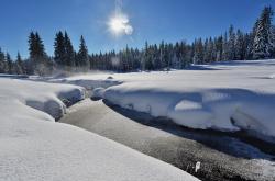 Kvildský potok u Jezerní slatě