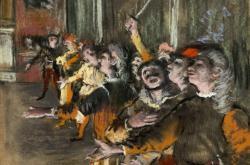 Degasův obraz Sboristé