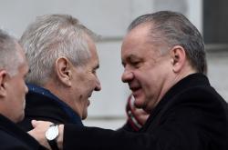 Miloš Zeman a Andrej Kiska