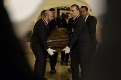 Vyzdvižení ostatků kardinála Berana ve Vatikánu