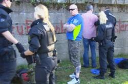 Sraz neonacistů v Ostritz