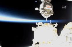 Přistání u ISS