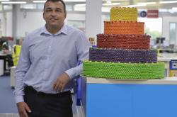 Ředitel továrny Mars Wrigley Confectionery v Poříčí nad Sázavou Michal Říha