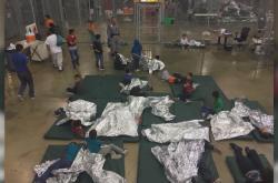 Americká detenční centra pro děti migrantů