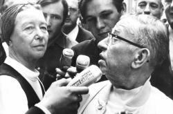 Simone de Beauvoir a Jean-Paul Sartre