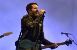 Jednou z největších hvězd festivalu byla kapela Nine Inch Nails s frontmanem Trentem Reznorem