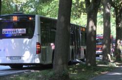 Autobus, v kterém pachatel zaútočil