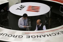 Tokijská akciová burza.