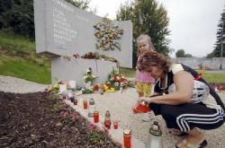 Památník železničního neštěstí ve Studénce