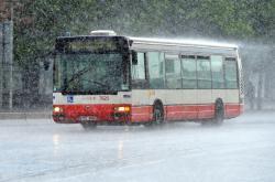 Přívalový déšť v Brně