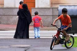 Muslimští turisté v Teplicích