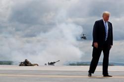 Donald Trump navýšil vojenský rozpočet