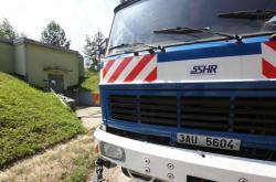 Cisterna na pitnou vodu Státní správy hmotných rezerv