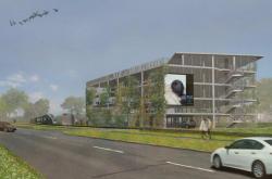 Návrh parkovacího domu v Olomouci