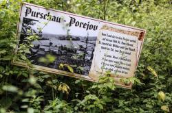 Zaniklá obec a kostel Pořejov