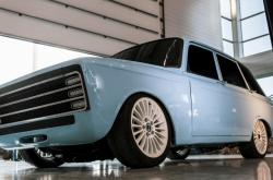 Koncept ruského elekromobilu Kalašnikov