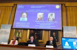 Laureáti Nobelovy ceny za fyziku 2018