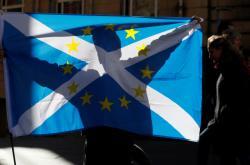 Demonstrace za nezávislost Skotska