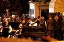 Turecká policie na saúdskoarabském konzulátu v Istanbulu