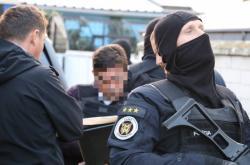 Razie slovenské policie