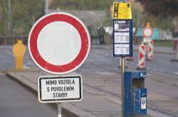 Pro řidiče je Zábrdovická ulice na 15 měsíců neprůjezdná