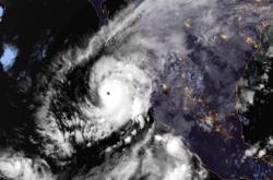 Hurikán Willa na satelitním snímku
