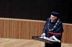 Oslava sta let republiky na Ústavním soudu