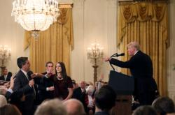 Donald Trump a Jim Acosta