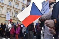 Protesty proti vládě se konaly zejména 17. listopadu