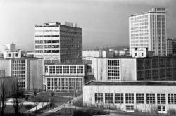 Zlínský mrakodrap je 21. správní budova obuvnické firmy Baťa