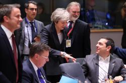 Theresa Mayová na unijním summitu