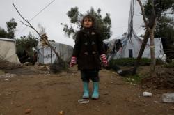 Stany uprchlíků na řeckém ostrově Lesbos