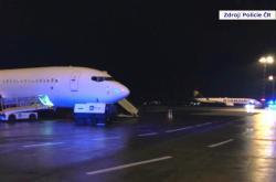Letadlo prohledala policie kvůli obrázku bomby na toaletě