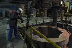 Vítkovice Heavy Machinery (na snímku ocelárna)