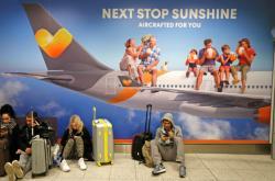 Cestující uvízlí na letišti Gatwick