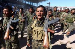 Vojáci Syrských demokratických sil