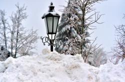 Boží Dar pod sněhem