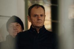 Demonstrace se účastnil i šéf Evropské rady Donald Tusk