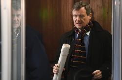 Exhejtman David Rath přichází k soudu